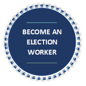 Becoming an Election Worker -button